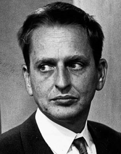 Olof Palme, 26th Prime Minster of Sweden   http://en.wikipedia.org/wiki/Olof_Palme